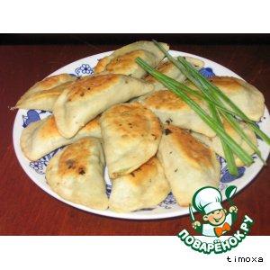 Рецепт: Китайские жареные пельмени