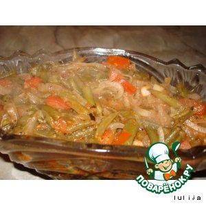 Рецепт: Овощной гарнир Зимний