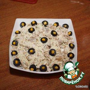 Рецепт: Мужской салат