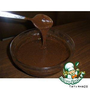 Рецепт: Шоколадный крем из микроволновки