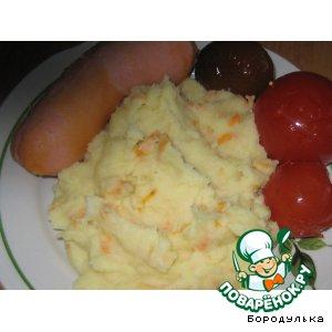 Рецепт: Картофельное пюре Особенное