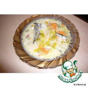 Рецепт: Греческий рыбный суп