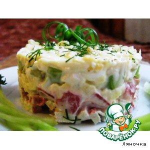 Рецепт: Салат Бриз от Ляночки