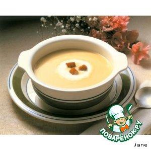 Рецепт: Суп-пюре грибной