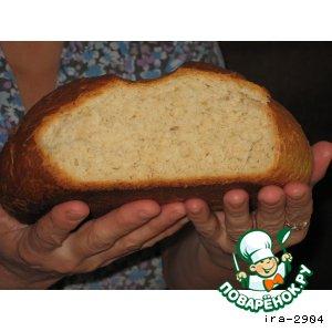 Рецепт: Овсяный хлеб на молоке