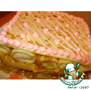 "Блинный торт ""Лакомка"""
