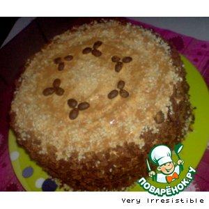 """Рецепт: Торт """"Шоколадно-ореховый пунш"""""""