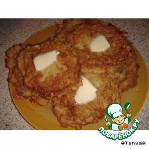 Рецепт: Картофельные драники