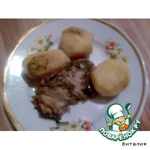 Рецепт: Мясные рулетики