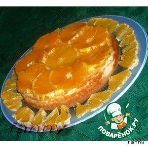 Рецепт: Чизкейк с апельсинами