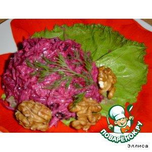 Рецепт: Салат из свеклы