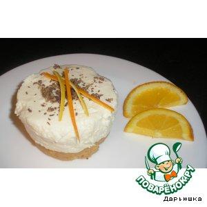 Рецепт: Десерт творожно-цитрусовый