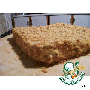 Рецепт: Торт Наполеон на 100 %