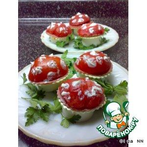 Рецепт: Грибные полянки