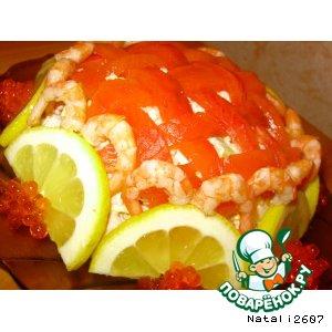 Рецепт: Салат «Удачный улов»