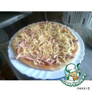 Рецепт: Пицца Cтуденческая