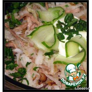 Рецепт: Салат Узбекистон