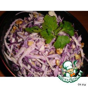 Рецепт: Салат Раз капуста, два капуста