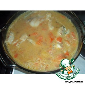 Рецепт: Рыба в йогурте