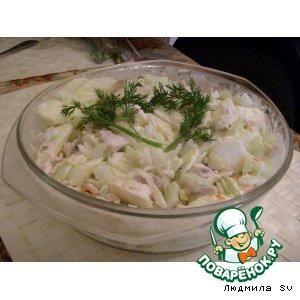 Рецепт: Салат Гламурный