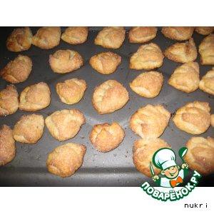 Рецепт: Печенье творожное Поцелуйчики