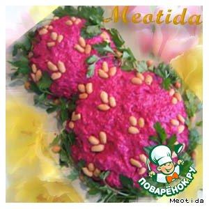 Рецепт: Салат С праздником юной Весны