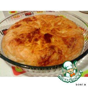 Рецепт: Сваренный пирог