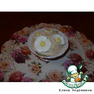Рецепт: Закуска из икры сельди малосольной