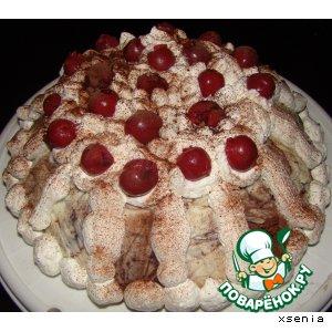 Торт сливочно-шоколадный №3