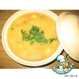 Рецепт: Суп из брюквы