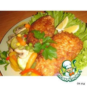 Рецепт: Рыба в тулупе