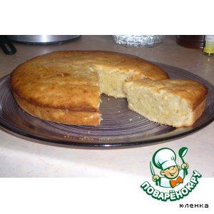 Рецепт: Пирог лимонный для ленивых