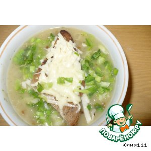 Рецепт: Французский луковый суп