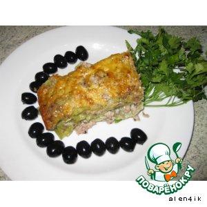 Рецепт: «Любимая лазанья»