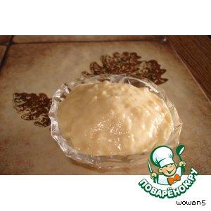 Десерт  Кремовая    карамелька