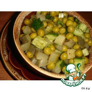 Рецепт: Селянский салат