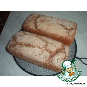 Рецепт: Ржаной хлеб с цельным зерном и семенами