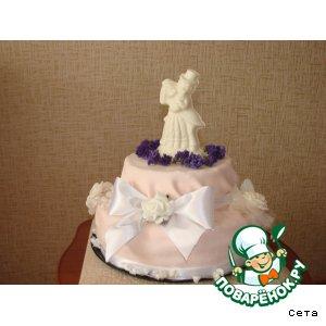 """Рецепт: Торт """"Свадебный переполох"""""""