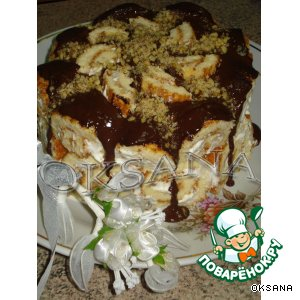 """Рецепт: Тортик  """"Для  любимых"""""""