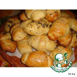 Рецепт: Рогалики из картофельного теста