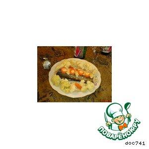 Рецепт: Паровая рыбка с сыром