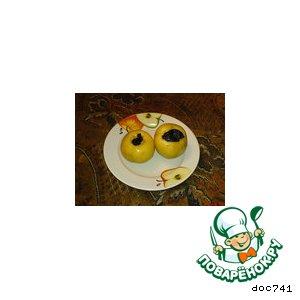 Рецепт: Яблочки с пару-с жару