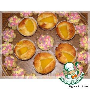 Рецепт: Персиковые маффины