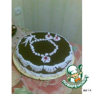 Рецепт: Украшение торта Женские радости