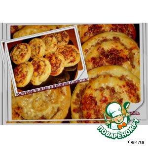 Рецепт: Картофельные плюшки с мясом