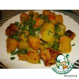 Рецепт: Овощи в кляре «Гондурас»
