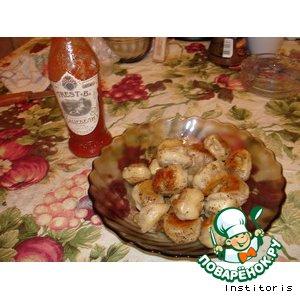 Рецепт: Жареные пельмени