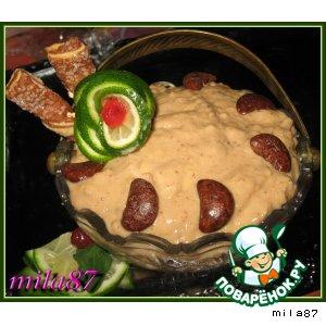 Рецепт: Десерт Золотые пески...