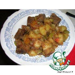 Рецепт: Азу почти по-татарски