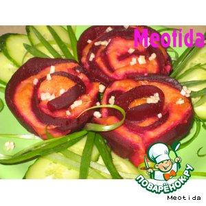 "Гарнир ""Царица цветов"" – кулинарный рецепт"